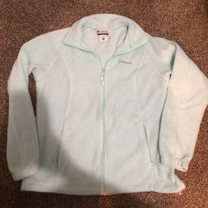Light Blue Columbia Jacket Size L